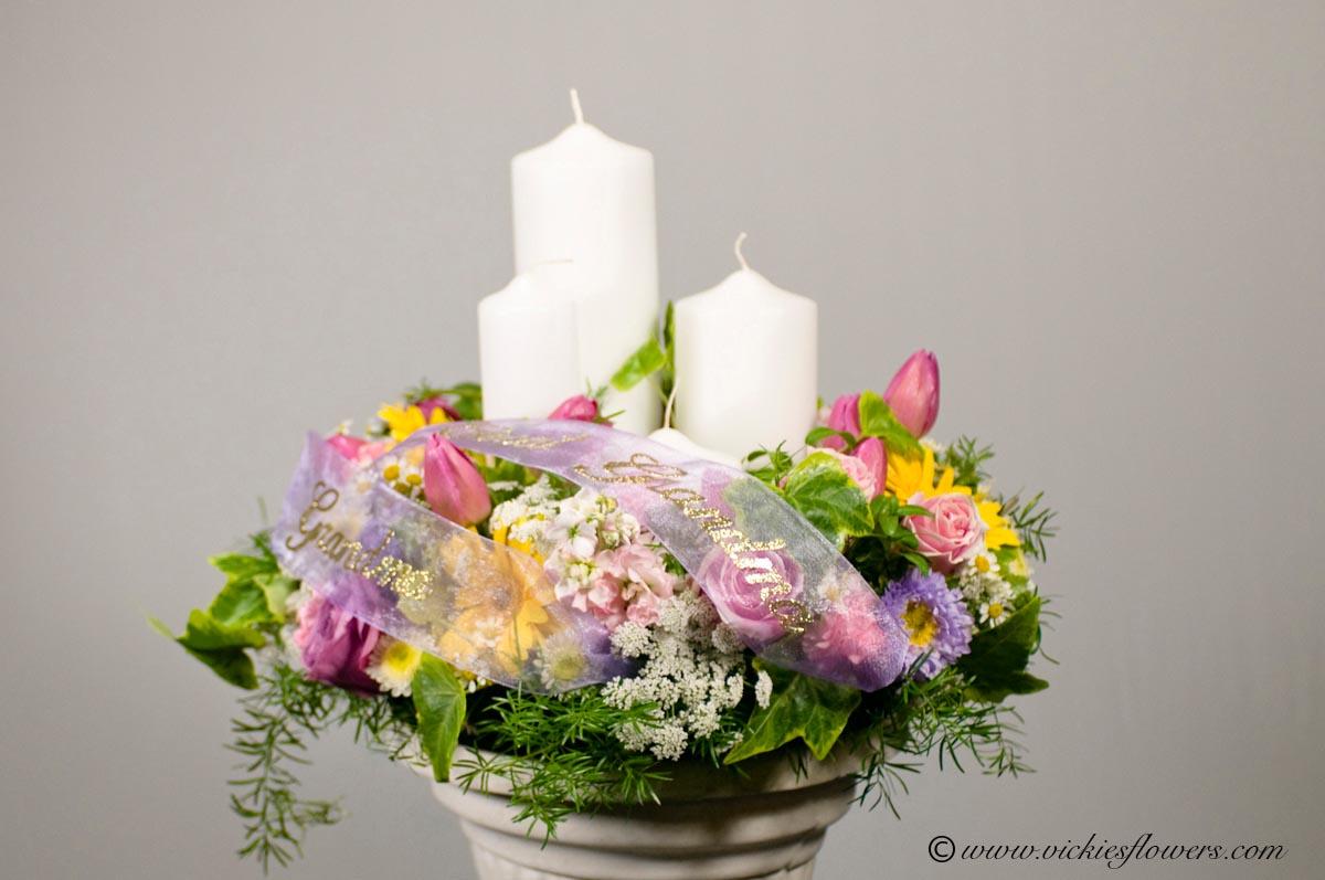 Cremation Urn Funeral Flowers Vickies Flowers Brighton Co Florist