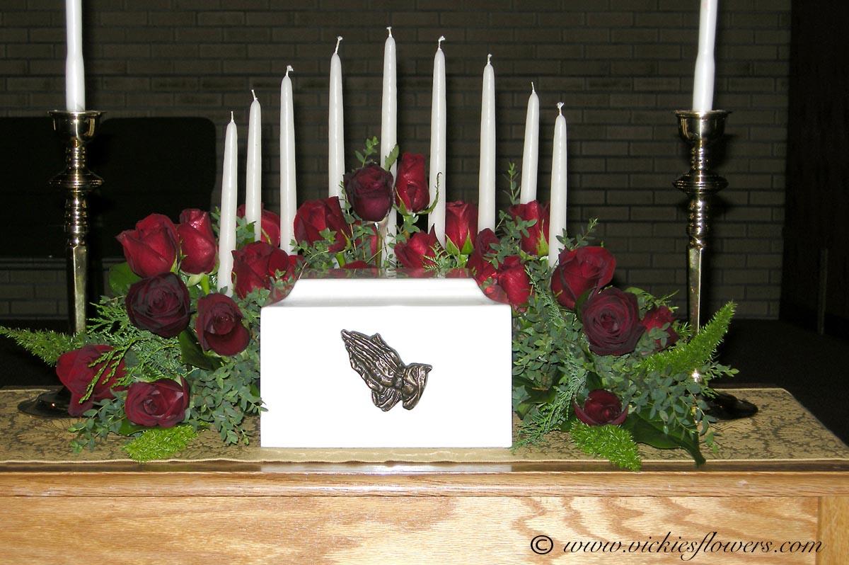 Cremation Urn Flowers