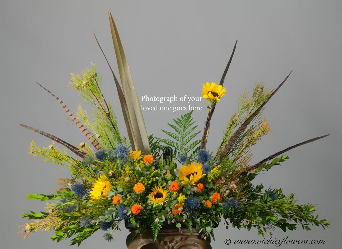 Funeral Flower Arrangements With Sunflowers Flowers Healthy