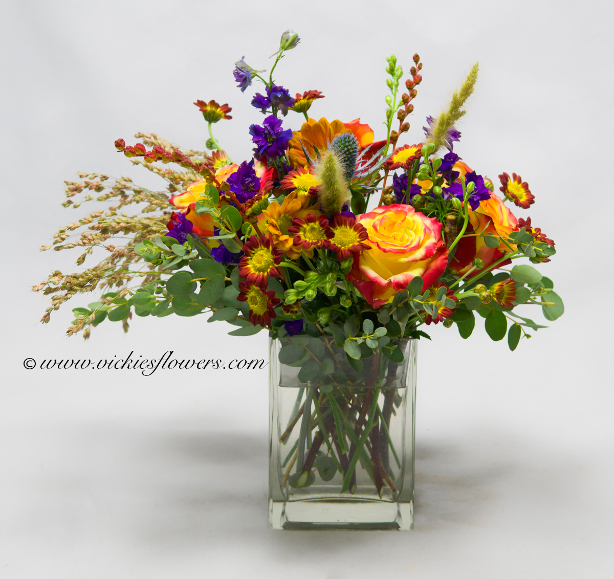 Fall Thanksgiving Flowers Candle Centerpieces Vickies Flowers Brighton Co Florist