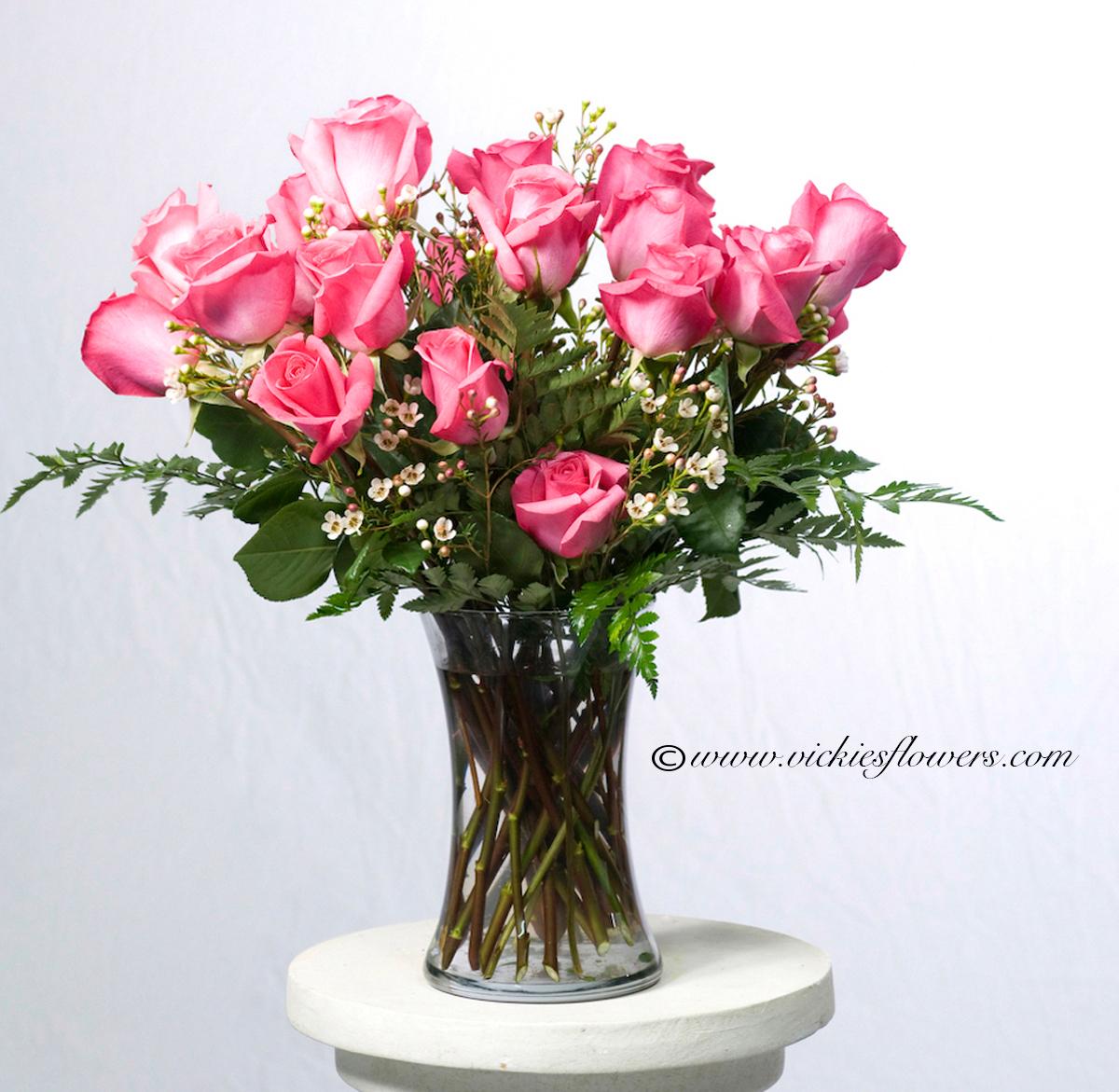 roses anniversary love flowers bouquet arrangement Archives ...