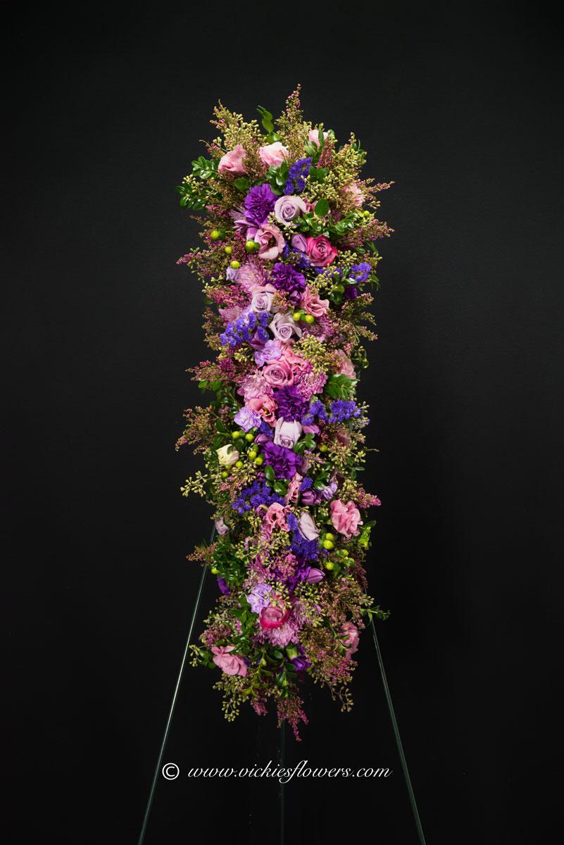 Funeral Crosses Standing Sprays Vickies Flowers Brighton Co