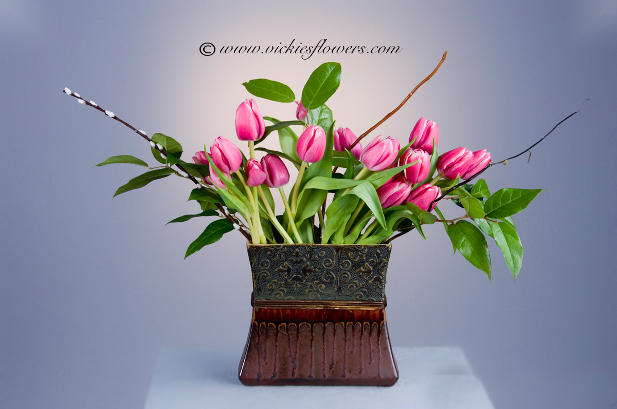 Ikebana Asian Flower Arrangements | Vickies Flowers | Brighton Co ...