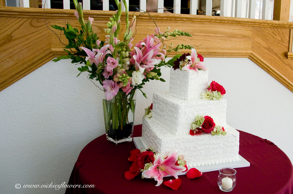 Wedding Cake Toppers Vickies Flowers Brighton Co Florist