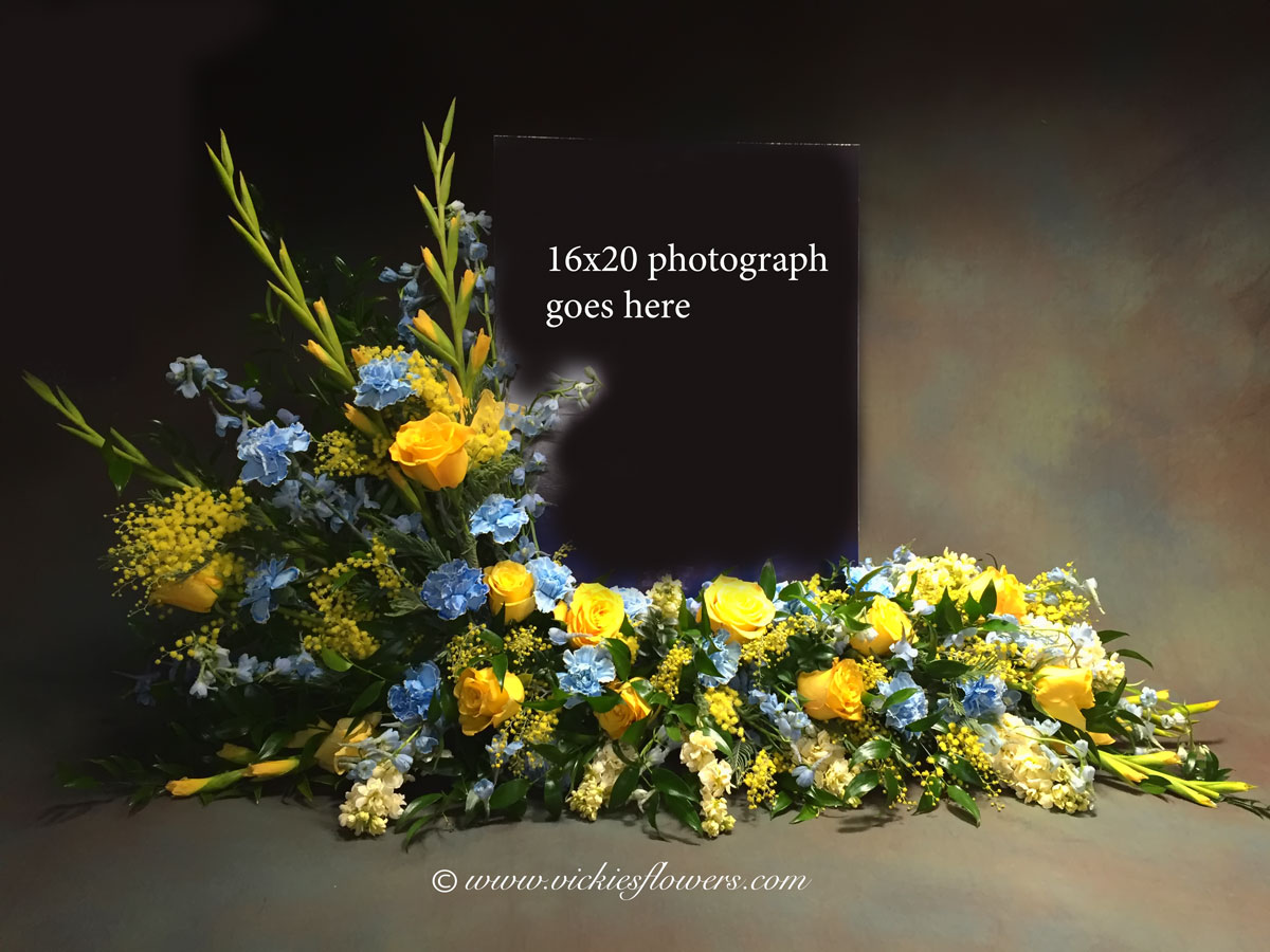 Sympathy funeral flowers vickies flowers brighton co florist funeral photo editing izmirmasajfo Image collections